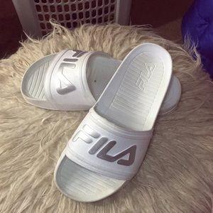 Fila women's slides